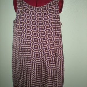 Lila Rose, Size 12 Shift Dress Polyester